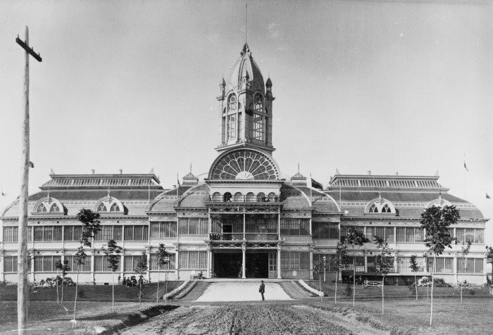 Toronto's Crystal Palace in 1882